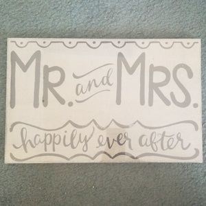 Mr. And Mrs. Decoration